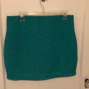 BCBGeneration teal miniskirt